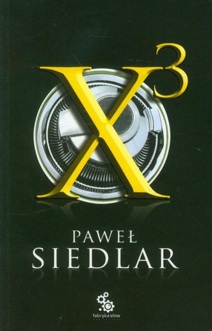x3 - Paweł Siedlar | okładka