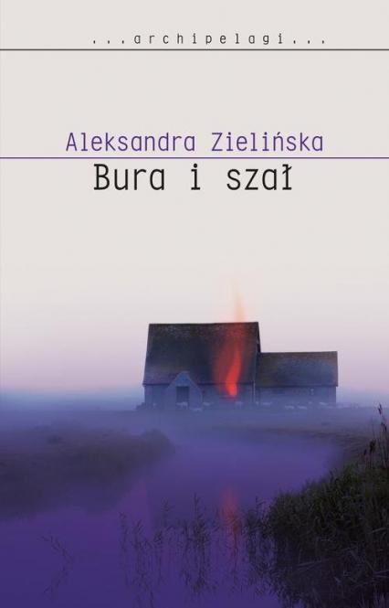 Bura i szał - Aleksandra Zielińska | okładka