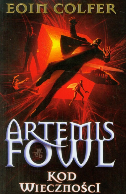 Artemis Fowl. Kod wieczności - Eoin Colfer | okładka