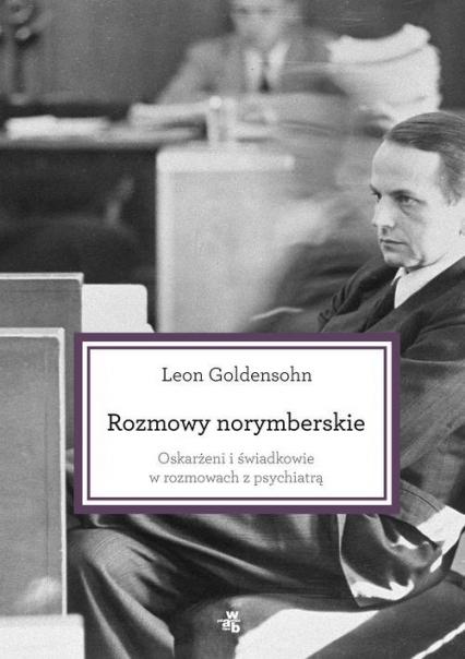 Rozmowy norymberskie - Leon Goldensohn | okładka