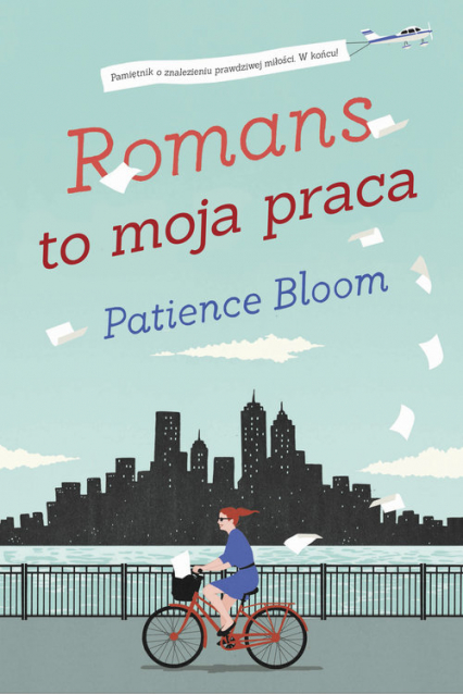 Romans to moja praca - Patience Bloom | okładka