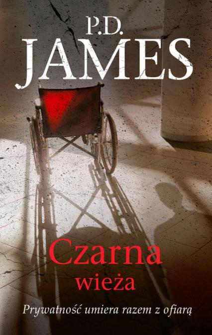 Czarna wieża - P.D. James   okładka