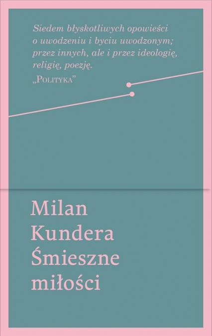 Śmieszne miłości - Milan Kundera | okładka