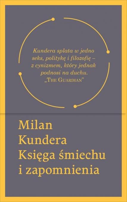 Księga śmiechu i zapomnienia - Milan Kundera | okładka