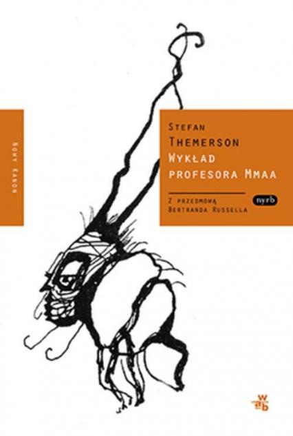 Wykład profesora Mmaa - Stefan Themerson | okładka