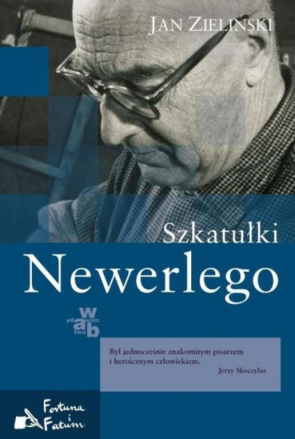 Szkatułki Newerlego - Jan Zieliński   okładka