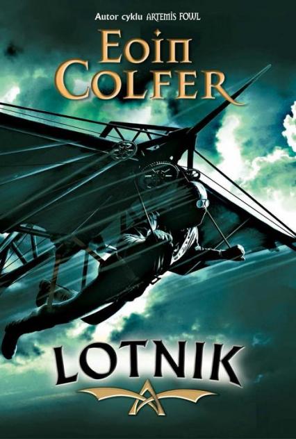 Lotnik - Eoin Colfer | okładka