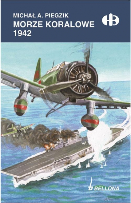 Morze Koralowe 1942 - Piegzik Michał A. | okładka