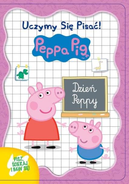 Świnka Peppa. Uczymy się pisać Dzień Peppy -  | okładka