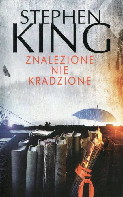 Znalezione nie kradzione - Stephen King   okładka
