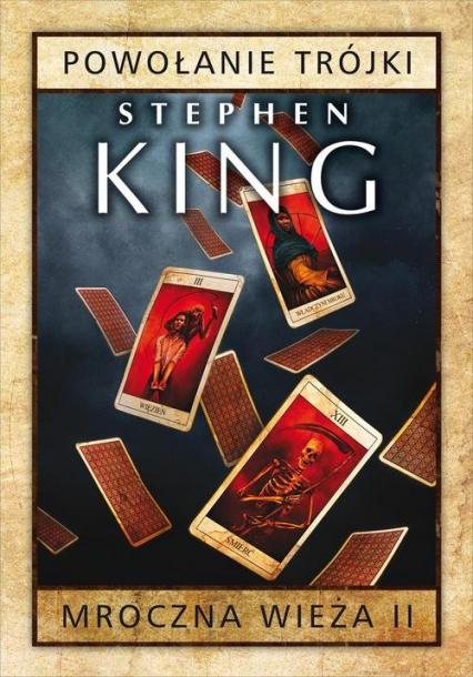 Powołanie Trójki - Stephen King | okładka