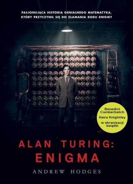 Alan Turing Enigma - Andrew Hodges   okładka