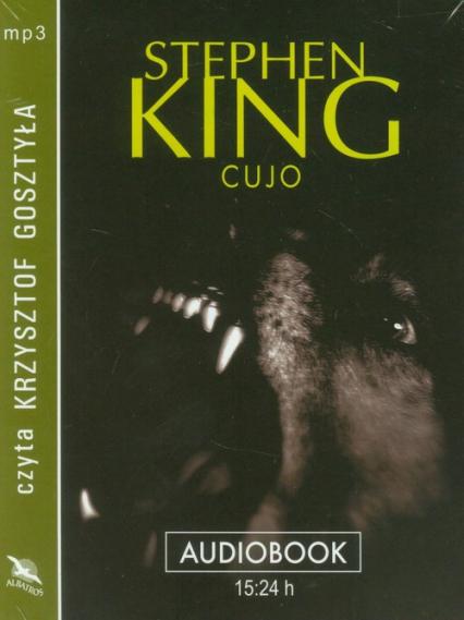 Cujo audiobook - Stephen King | okładka