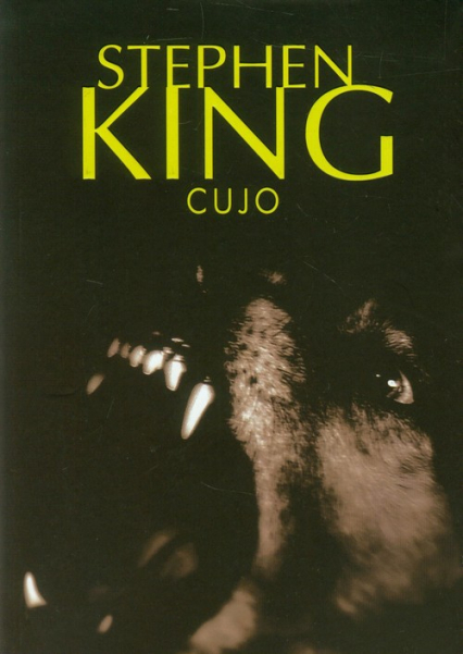 Cujo - Stephen King   okładka