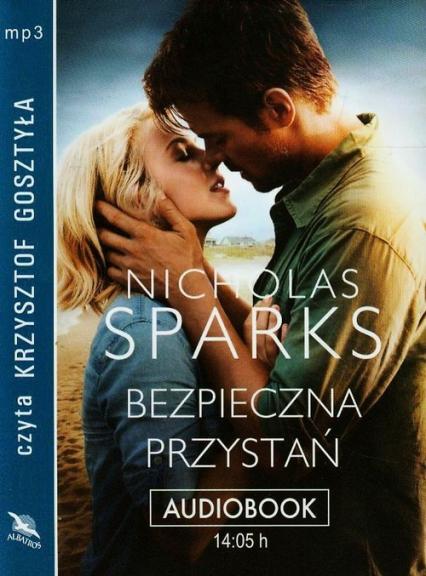 Bezpieczna przystań audiobook - Nicholas Sparks   okładka
