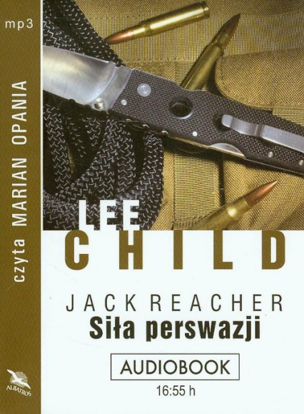 Siła perswazji audiobook - Lee Child | okładka