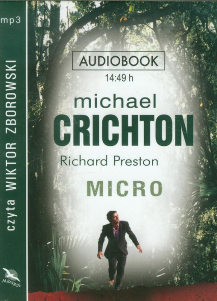 Micro audiobook - Michael Crichton | okładka