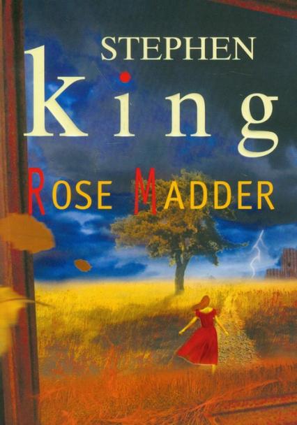 Rose Madder - Stephen King   okładka
