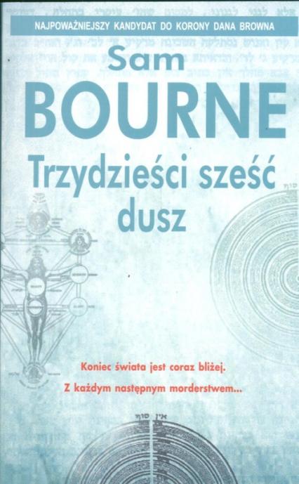 Trzydzieści sześć dusz - Sam Bourne | okładka