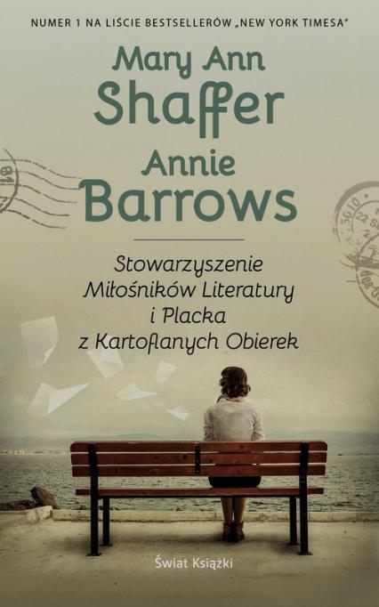 Stowarzyszenie Miłośników Literatury i Placka z Kartoflanych Obierek - Shaffer Mary Ann, Barrows Annie | okładka