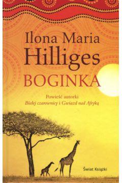Boginka - Ilona Maria Hilliges | okładka