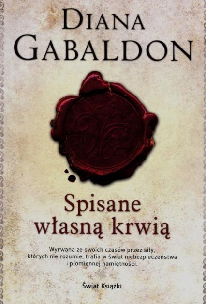 Spisane własną krwią - Diana Gabaldon | okładka