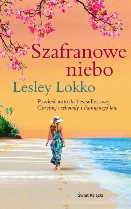 Szafranowe niebo - Lesley Lokko | okładka