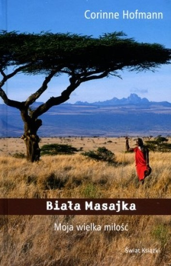 Biała Masajka - Corinne Hofmann | okładka