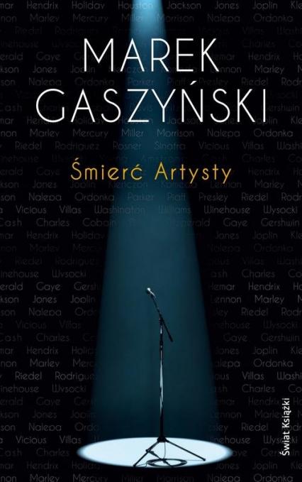 Śmierć Artysty - Marek Gaszyński | okładka