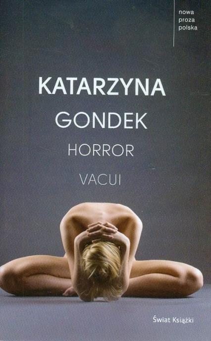 Horror Vacui - Katarzyna Gondek   okładka