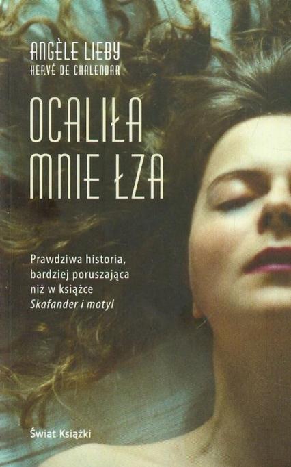 Ocaliła mnie łza - Angele Lieby | okładka