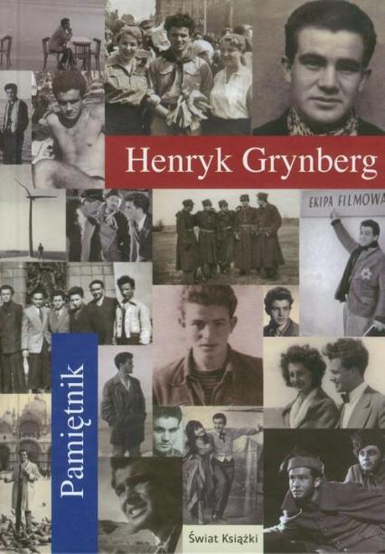 Pamiętnik - Henryk Grynberg | okładka