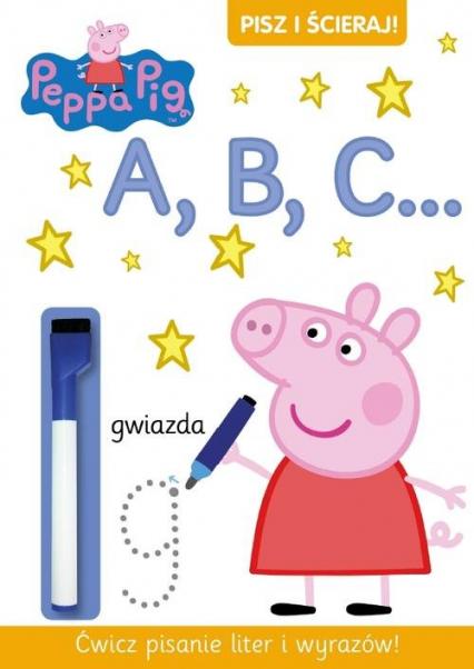 Pisz i ścieraj 2. Świnka Peppa -  | okładka