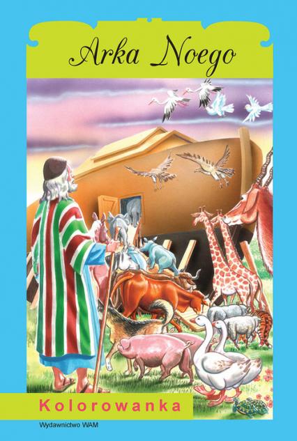Arka Noego Kolorowanka - Przemysław Sałamacha | okładka