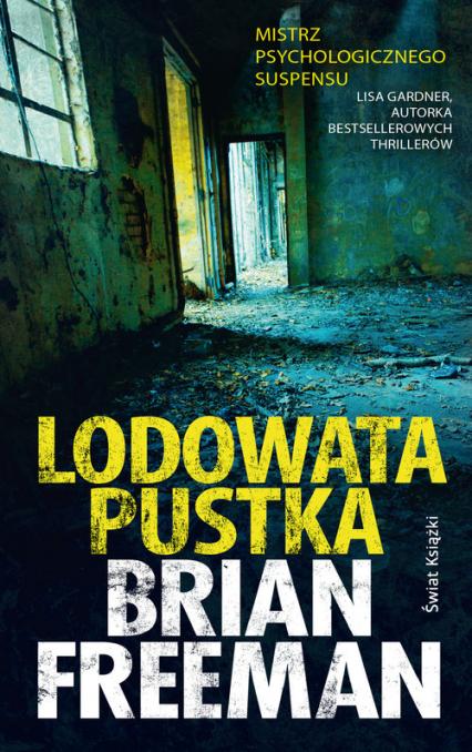 Lodowata pustka - Brian Freeman | okładka