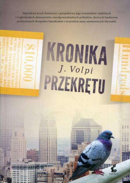 Kronika przekrętu - Jorge Volpi | okładka