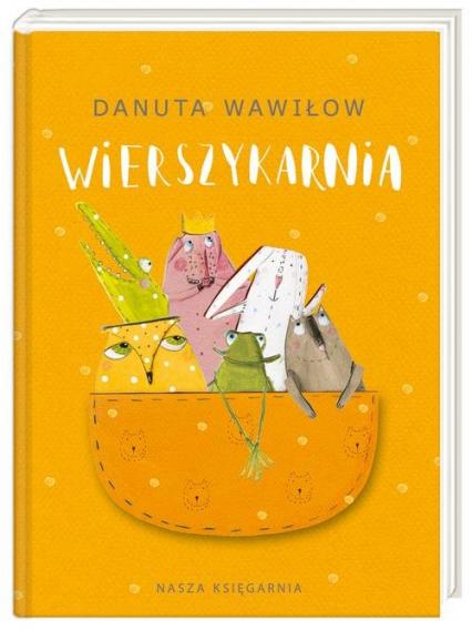 Wierszykarnia - Danuta Wawiłow | okładka