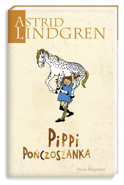 Pippi Pończoszanka - Astrid Lindgren   okładka