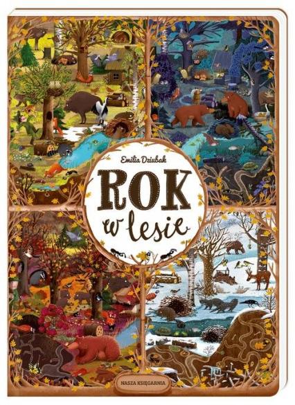 Rok w lesie - Emilia Dziubak | okładka