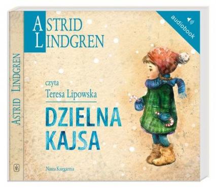 Dzielna Kajsa. Audiobook - Astrid Lindgren | okładka