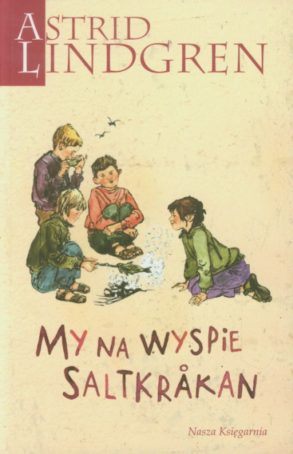 My na wyspie Saltkrakan - Astrid Lindgren   okładka