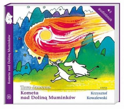 Kometa nad Doliną Muminków. Audiobook - Tove Jansson | okładka