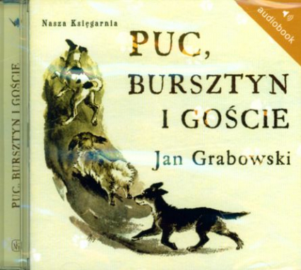 Puc Bursztyn i gości. Audiobook - Jan Grabowski | okładka