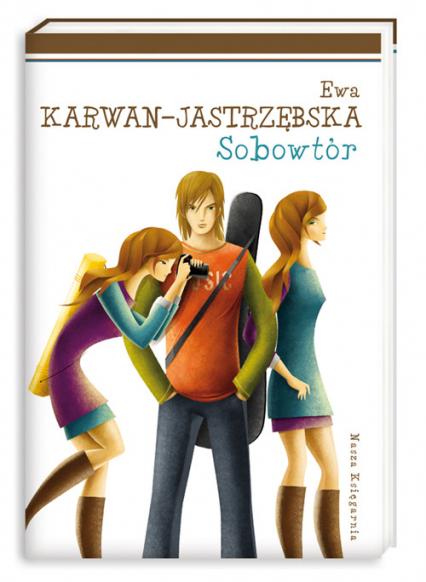 Tylko dla dziewczyn. Sobowtór - Ewa Karwan-Jastrzębska | okładka