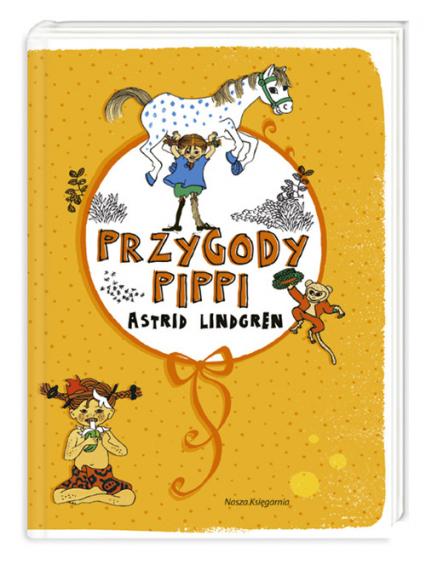 Przygody Pippi - Astrid Lindgren   okładka