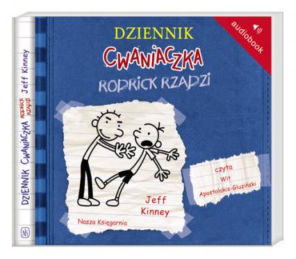 Dziennik cwaniaczka 2. Rodrick rządzi Audiobook - Jeff Kinney | okładka