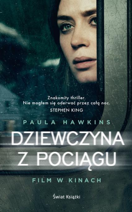 Dziewczyna z pociągu - Paula Hawkins | okładka