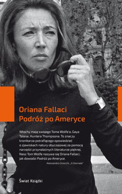 Podróż po Ameryce - Oriana Fallaci | okładka