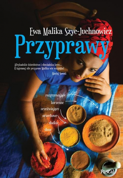Przyprawy - Szyc-Juchnowicz Ewa Malika | okładka