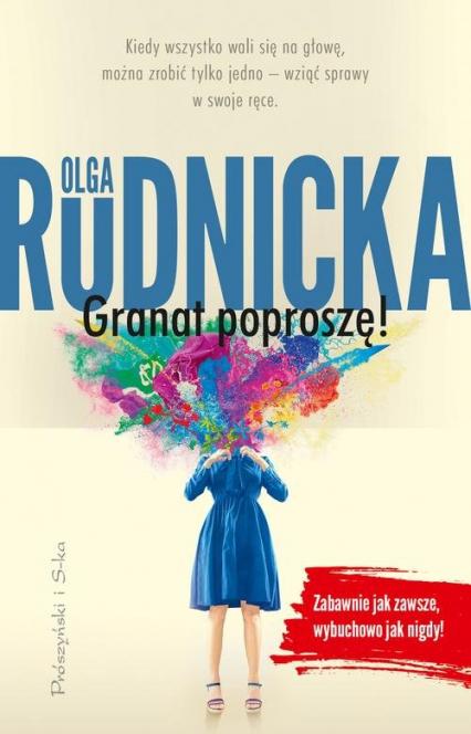 Granat poproszę - Olga Rudnicka | okładka